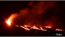 Eruption volcanique du Piton de la Fournaise - 7�me jour - Mai 2015