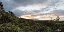 Coucher de soleil sur le Belvédère de l'Eden Photo n°2