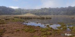 Lac du Piton Argamasse, au sud de La Réunion