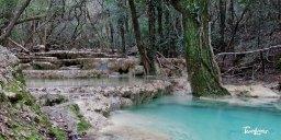Les vasques de l'Huveaune dans le massif de la Sainte-Baume - Var (83) Photo n°1