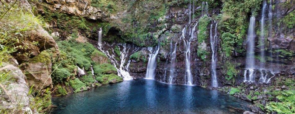 La cascade Grand Galet, à Langevin