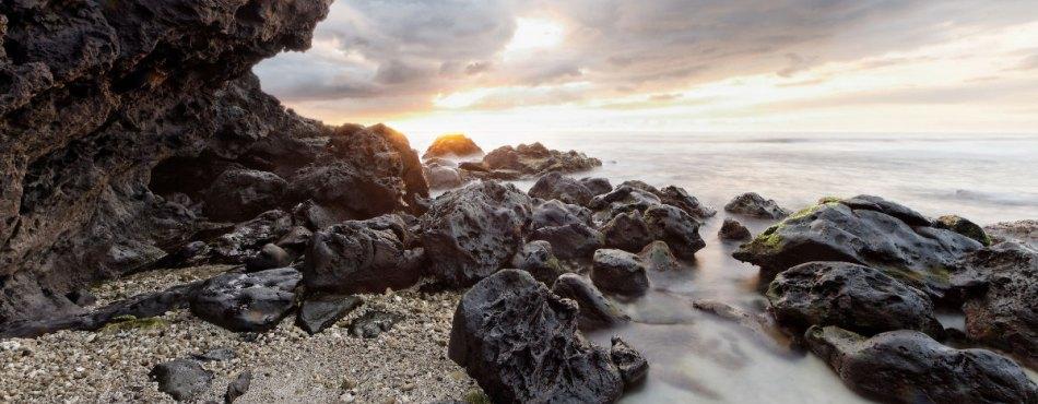 Coucher de soleil à St-Leu (UGA + filtres ND)